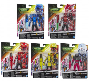 HASBRO Powerrangers 15 Cm Basic Figure Ast Personaggi E Playset Maschili