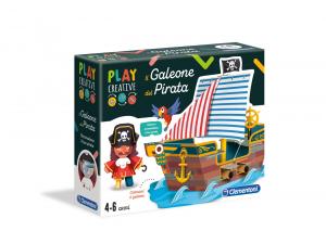 Il galeone del pirata - Play Creative dai 4+ Clementoni