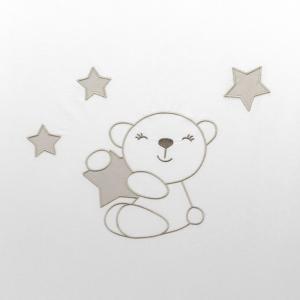 NUOVA COLLEZIONE 2019/2020 Completo piumone lettino  Little Star beige related image