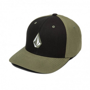 Cappello Volcom Full Stone ( Black/Green )