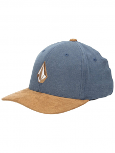 Cappello Volcom Full Stone ( Blue/Brown )