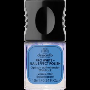 ALESSANDRO INTERNATIONAL smalto per unghie pro white effetto vernice lucido 10ml