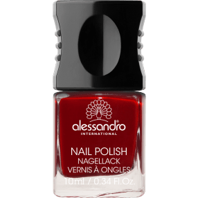 ALESSANDRO INTERNATIONAL smalto per unghie manicure colore 26 velvet red