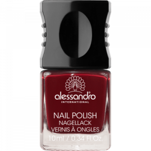 ALESSANDRO INTERNATIONAL smalto per unghie manicure colore 54 midnight red