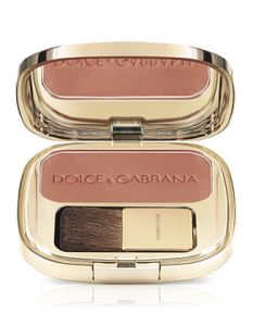 DOLCE & GABBANA the blush fard con pennellino makeup viso colore 27 apricot