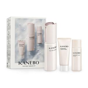 KANEBO the first serum cofanetto siero viso+detergente+lozione 60ml+20ml+30ml