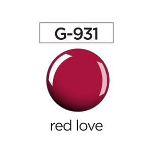 LISA smalto per unghie manicure colore g931 red love