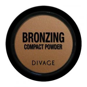 DIVAGE bronzing compact powder terra abbronzante leggera makeup viso colore 3