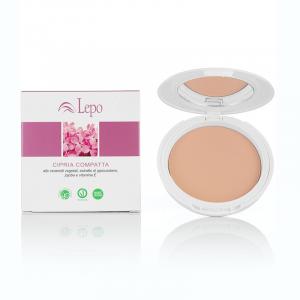 LEPO cipria compatta vegana fissante makeup viso tonalità 5