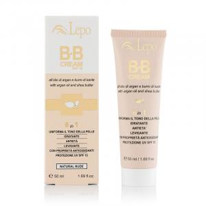 LEPO bb cream spf15 crema colorata makeup viso 50ml tonalità 1 medio chiaro