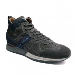 Sneaker alta grigia Nero Giardini