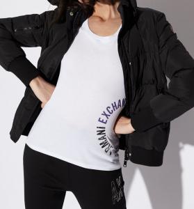 T-shirt donna ARMANI EXCHANGE in cotone pima