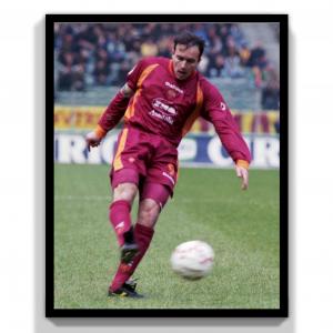 1997-98 As Roma Maglia Match Worn/Issue #9 Balbo C.O.A
