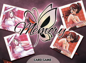 BUTTERFLY EFFECT MEMORY CARD GAME - box