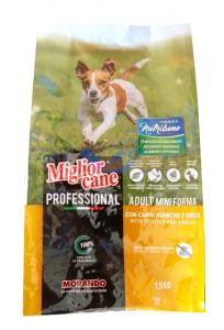 Crocchetta Miglior cane Adult Mini (carni bianche ed orzo) kg. 1.5