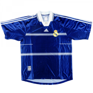 1998-99 Real Madrid Maglia Away L