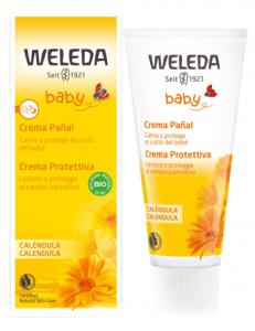 WELEDA BABY CALENDULA CREMA PROTETTIVA - PROTEGGE E LENISCE AD OGNI CAMBIO PANNOLINO