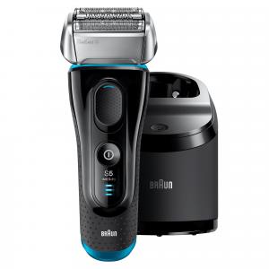 Braun Series 5 5190cc Rasoio Elettrico Barba A Lamina Wet&Dry Con Sistema Clean&Charge