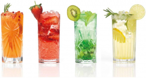 Set 4 Bicchieri Mixology RCR long drink cm.15h diam.7