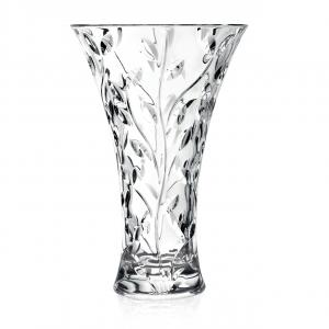Vaso in vetro largo RCR Laurus cm.30h diam.19