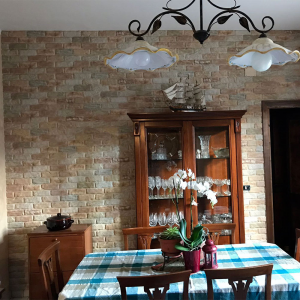 Modern Covered Brick Panel Greco
