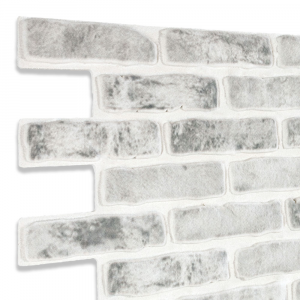 Modern Covered Brick Panel Monocrom