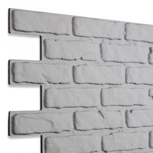 Modern Covered Brick Panel Grigio