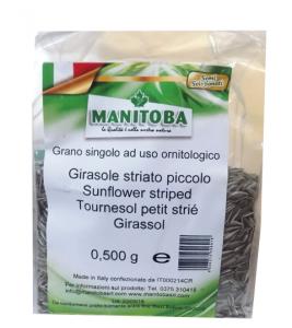 Semi di Girasole striato Manitoba da kg.0.5 e Kg.10