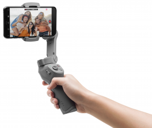 DJI Osmo Mobile 3 Combo Smartphone camera stabilizer Grigio