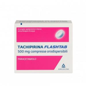 TACHIPIRINA FLASHTAB - PARACETAMOLO 500 MG COMPRESSE ORODISPERSIBILI ANGELINI