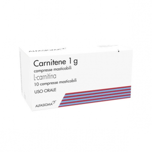CARNITENE - FARMACO A BASE DI L-CARNITINA IN COMPRESSE MASTICABILI
