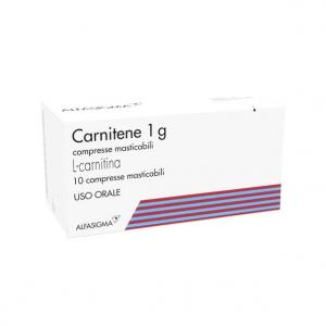 CARNITENE - FARMACO A BASE DI L-CARNITINA IN COMPRESSE MASTICABILI