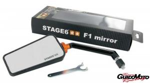S6-SSP630-2L/CM SPECCHIO STAGE6  F1 SINISTRO CARBON LOOK OPACO 8 MM.