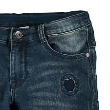 Pantalone felpa indigo Mek