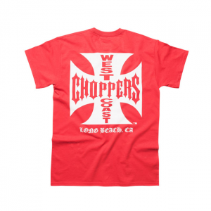 WCC Maltese/Original Cross T-shirt classic red Male; EU size M