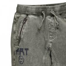Pantalone felpa acid wash Mek
