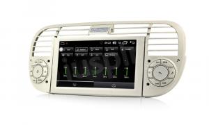ANDROID autoradio navigatore per Fiat 500 Fiat Abarth 500 2007-2015 GPS DVD WI-FI Bluetooth MirrorLink