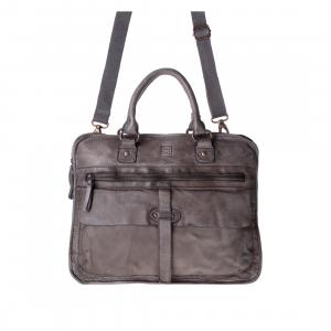 DuDu Timeless - Briefcase - Gray Stone