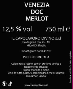 Venezia Doc Merlot