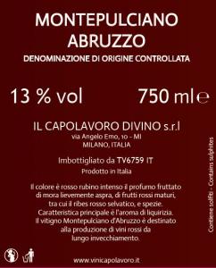 Montepulciano Abruzzo Doc