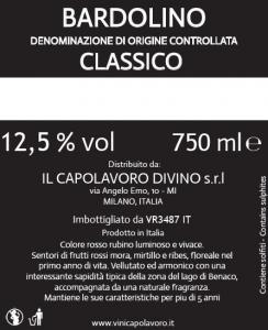Bardolino Classico Doc