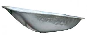 Cassone zinco per carriola