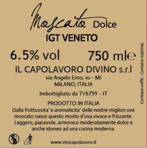 Moscato Dolce Igt Veneto