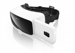 Carl Zeiss VR One Visore collegato allo smartphone Nero, Bianco