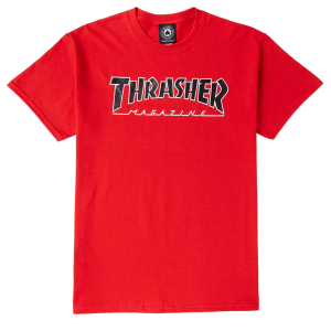 T-Shirt Thrasher Red Tee