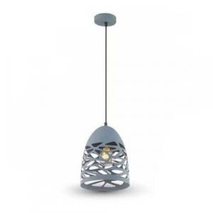 LAMPADARIO A SOSPENSIONE IN METALLO MOD.  REAL VT-7200