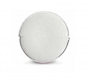 Vassoio piatto tondo in vero argento interno madreperla cm.diam.32