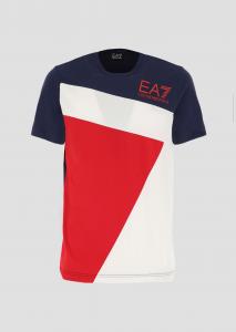 T-shirt uomo ARMANI EA7 tricolor
