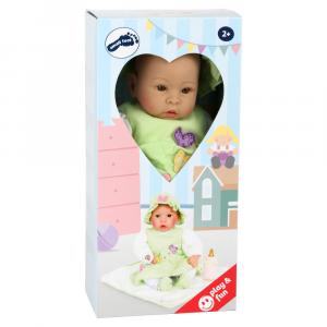 Bambola con ciuccio e biberon gioco per bambine Legler 2738