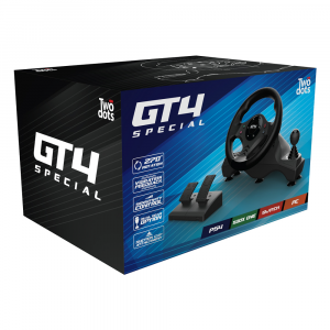 Volante GT4 Special + Universal Pro Driving Simulator